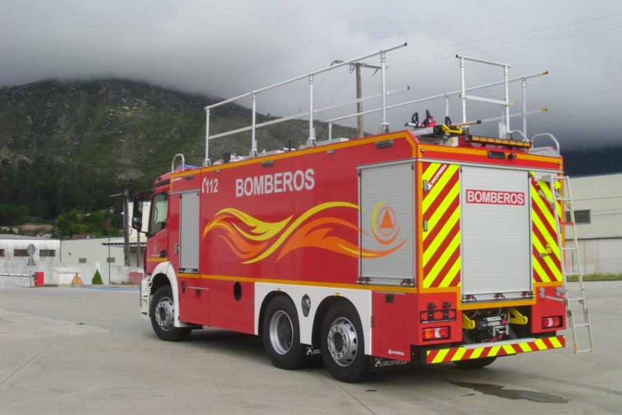 BNP 12800 LTS, SOBRE CHASIS MERCEDES ANTOS