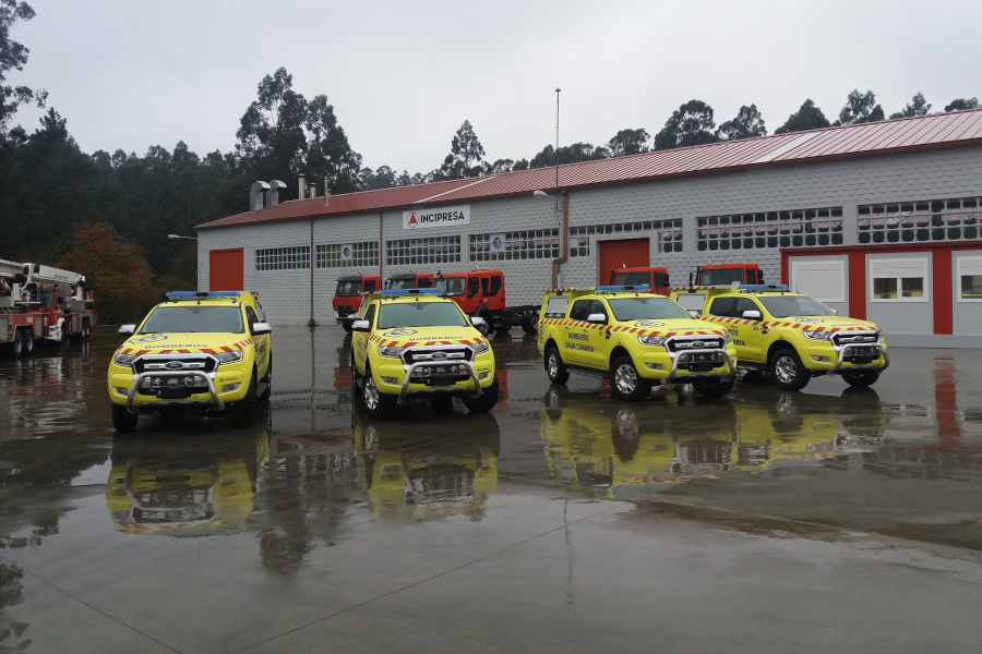 PICK-UP VEHICLES ON FORD RANGER DOUBLE CAB