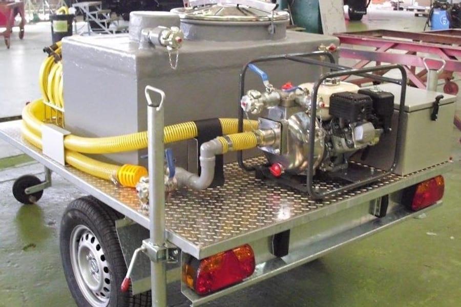 AUTONOMOUS CLEANING KIT ON TRAILER 750 KG